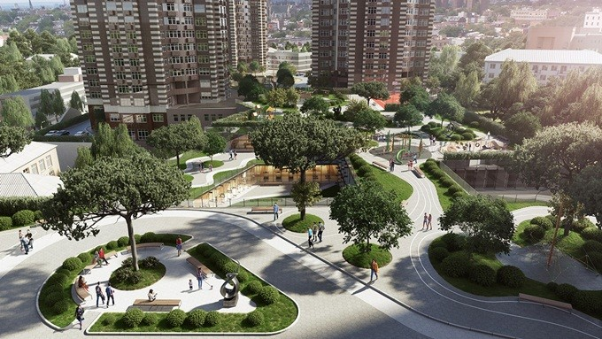 ЖК «Гринвилль парк» в Киеве: новые стандарты комфорта и экологичности